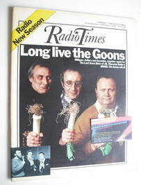 <!--1972-09-30-->Radio Times magazine - The Goons cover (30 September - 6 O
