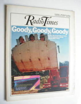 Radio Times magazine - The Goodies cover (3-9 February 1973)
