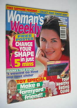 <!--1995-02-28-->Woman's Weekly magazine (28 February 1995)