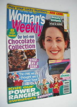 Woman's Weekly magazine (11 April 1995)