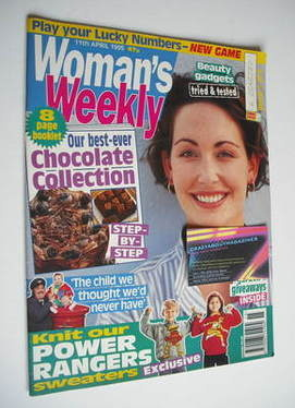 <!--1995-04-11-->Woman's Weekly magazine (11 April 1995)