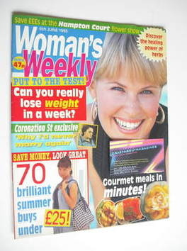 <!--1995-06-06-->Woman's Weekly magazine (6 June 1995)