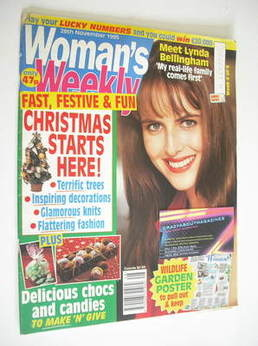 <!--1995-11-28-->Woman's Weekly magazine (28 November 1995)