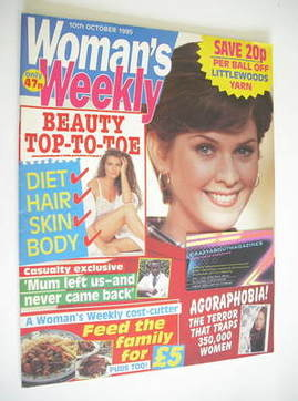 <!--1995-10-10-->Woman's Weekly magazine (10 October 1995)