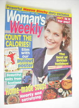 <!--1995-01-10-->Woman's Weekly magazine (10 January 1995)