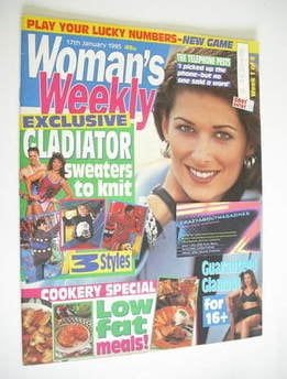<!--1995-01-17-->Woman's Weekly magazine (17 January 1995)