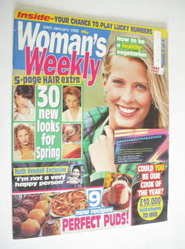 <!--1995-01-24-->Woman's Weekly magazine (24 January 1995)
