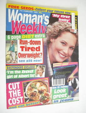 <!--1995-02-07-->Woman's Weekly magazine (7 February 1995)