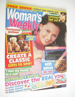 <!--1995-02-14-->Woman's Weekly magazine (14 February 1995)