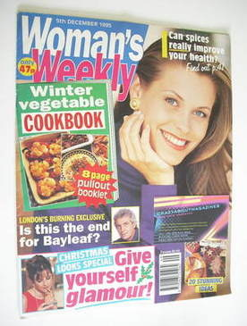 <!--1995-12-05-->Woman's Weekly magazine (5 December 1995)