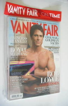 Vanity Fair magazine - Rob Lowe cover (May 2011)