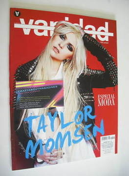 Vanidad magazine - Taylor Momsen cover (March 2011)