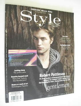 Style International magazine - Robert Pattinson cover (April 2011)