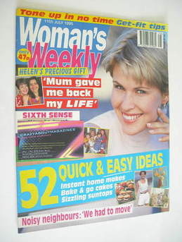 <!--1995-07-11-->Woman's Weekly magazine (11 July 1995)