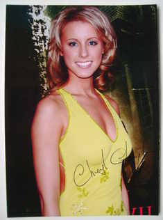 Cheryl Campbell autograph (hand-signed photograph)