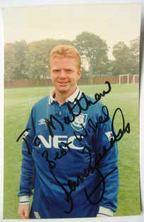 David Burrows autograph
