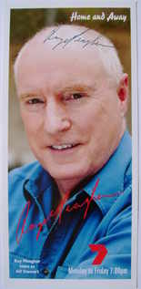 Ray Meagher autograph