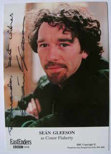 Sean Gleeson autograph (ex EastEnders actor)