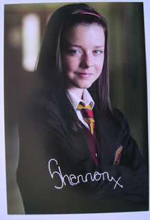 Shannon Flynn autograph