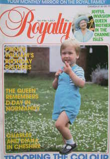 <!--1984-07-->Royalty Monthly magazine - Prince William cover (July 1984, V