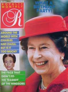 <!--1986-06-->Royalty Monthly magazine - The Queen cover (June 1986, Vol.5