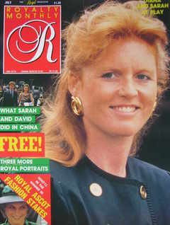 <!--1987-07-->Royalty Monthly magazine - The Duchess of York cover (July 19