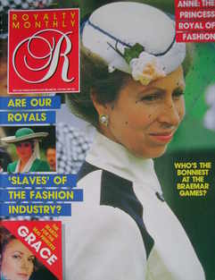 <!--1987-10-->Royalty Monthly magazine - Princess Anne cover (October 1987,