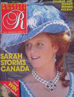 <!--1987-09-->Royalty Monthly magazine - The Duchess of York cover (Septemb