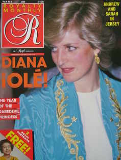 <!--1987-06-->Royalty Monthly magazine - Princess Diana cover (June 1987, V