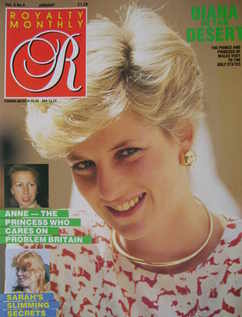 <!--1987-01-->Royalty Monthly magazine - Princess Diana cover (January 1987