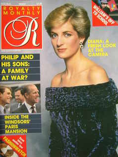 <!--1987-03-->Royalty Monthly magazine - Princess Diana cover (March 1987,