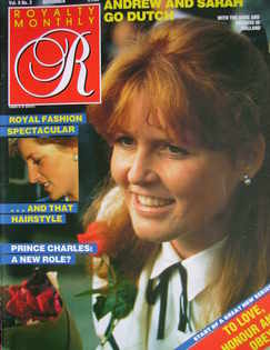 <!--1986-11-->Royalty Monthly magazine - The Duchess of York cover (Novembe