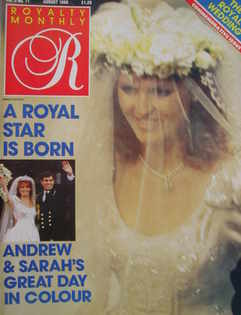 <!--1986-08-->Royalty Monthly magazine - Sarah Ferguson cover (August 1986,