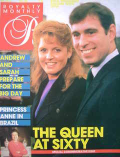 <!--1986-05-->Royalty Monthly magazine - Prince Andrew and Sarah Ferguson c