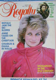 <!--1985-03-->Royalty Monthly magazine - Princess Diana cover (March 1985,