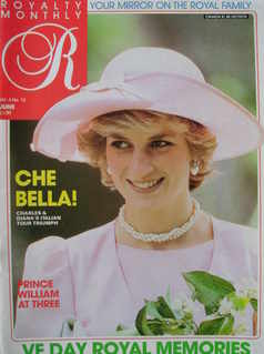 <!--1985-06-->Royalty Monthly magazine - Princess Diana cover (June 1985, V