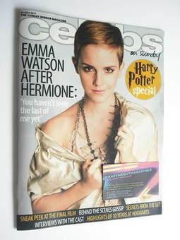 <!--2011-07-10-->Celebs magazine - Emma Watson cover (10 July 2011)