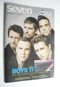 Seven magazine - Take That cover (29 May 2011)