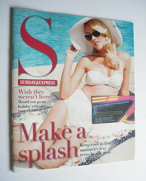 <!--2011-05-29-->Sunday Express magazine - 29 May 2011 - Make A Splash cove