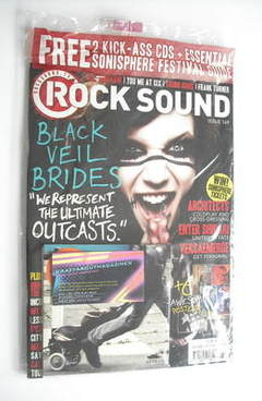 <!--2011-07-->Rock Sound magazine - Black Veil Brides cover (July 2011)