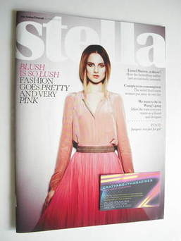 <!--2011-03-20-->Stella magazine - Blush Is So Lush cover (20 March 2011)