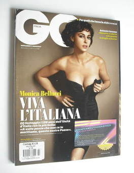 <!--2011-03-->Italy GQ magazine - March 2011 - Monica Bellucci cover