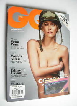 <!--2011-05-->Italy GQ magazine - May 2011 - Bar Refaeli cover