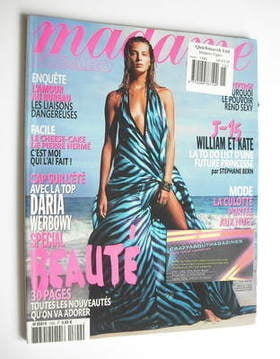 <!--2011-04-16-->Madame Figaro magazine - 16-22 April 2011 - Daria Werbowy