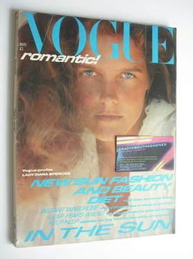 <!--1981-05-->British Vogue magazine - May 1981 (Vintage Issue)