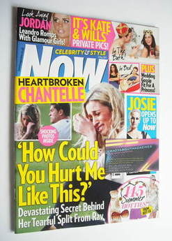<!--2011-05-02-->Now magazine - Chantelle Houghton cover (2 May 2011)