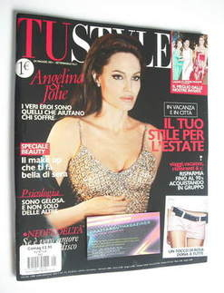 TU Style magazine - Angelina Jolie cover (24 May 2011 - Italian Issue)