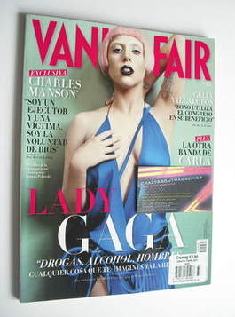 <!--2011-05-->Vanity Fair magazine - Lady Gaga cover (May 2011 - Spanish Ed