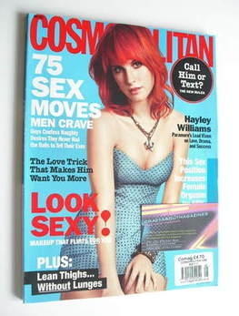 <!--2011-05-->USA Cosmopolitan magazine (May 2011 - Hayley Williams cover)