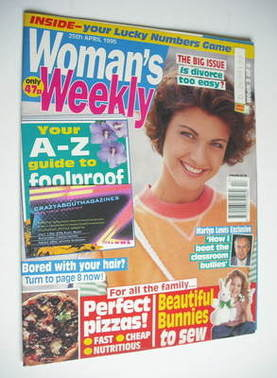 <!--1995-04-25-->Woman's Weekly magazine (25 April 1995)
